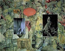 mingus in mexico by david salle