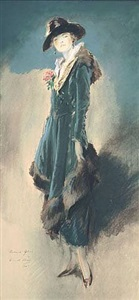 <b>everett shinn</b><br>bonnie glass (sold)