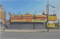 coney island food stand by andrew lenaghan