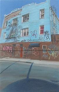 rodney st. graffiti house by andrew lenaghan