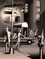 consider the alternative by mark kostabi