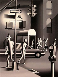 mark kostabi paintings by mark kostabi