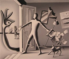 typhoon of my mind by mark kostabi