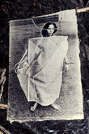cosmococa 1: cc1 trashiscapes (collaboration with neville d'almeida) by helio oiticica