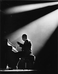 duke ellington, paris by herman leonard