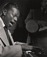 nat king cole, new york city by herman leonard
