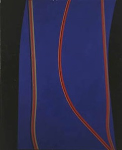 lorser feitelson 10 paintings los angeles, the 1960s by lorser feitelson