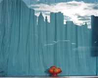 untitled ny (oranges and blue curtain) by mitch epstein