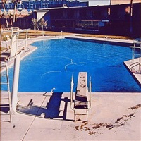 """from """"nine swimming pools"""" by ed ruscha"""