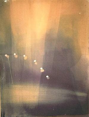 untitled (lights) by ross bleckner