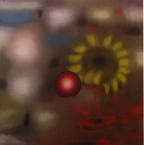 from/to (yellow) by ross bleckner