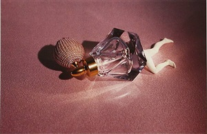 perfume bottle, from <i>lying objects</i> by laurie simmons