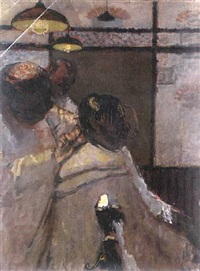 the barber's shop by ruskin spear