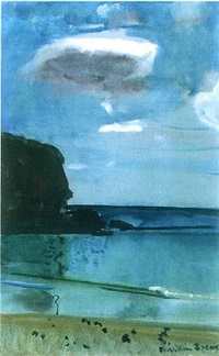 seascape by ruskin spear