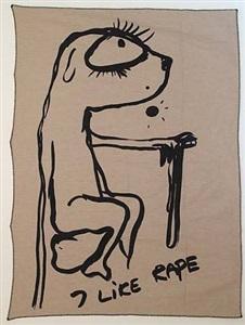 i like rape by bjarne melgaard