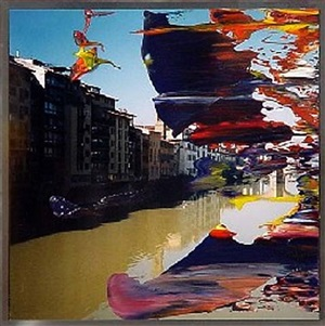 city life by gerhard richter