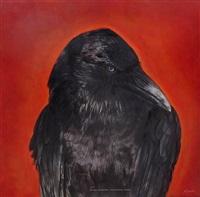 australian raven by kate breakey