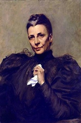 mrs. union samuel betts lawrence by william merritt chase