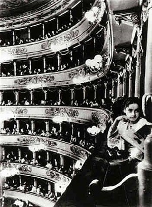 premiere at la scala, milan by alfred eisenstaedt