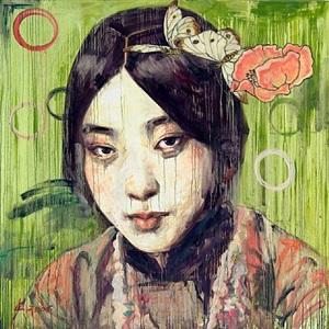 visage vii by hung liu