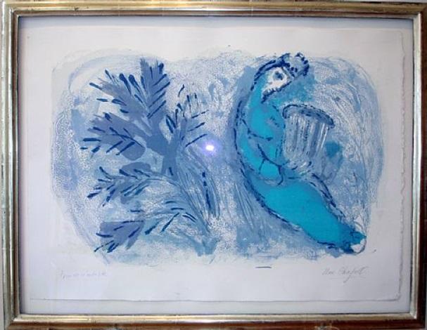 david by marc chagall