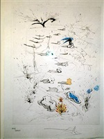 poems, secets, d'apollinaire by salvador dalí