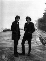 mods, fitzwilliam square, dublin, 1967 by evelyn hofer