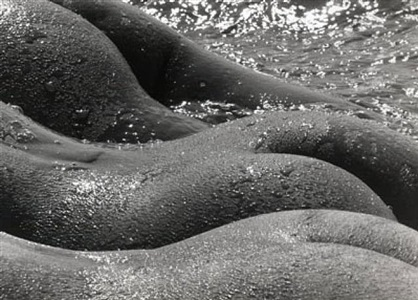 the giants by lucien clergue