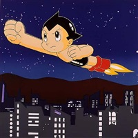 japan project, homage to andy warhol, astroboy by rupert jasen smith