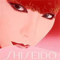 japan project, homage to andy warhol, shiseido-sayoko yamaguchi by rupert jasen smith