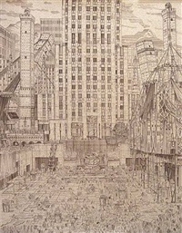 rockefeller center by adam dant