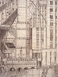 rockefeller center (detail) by adam dant