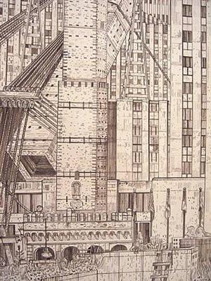 rockefeller center (detail) by adam dant