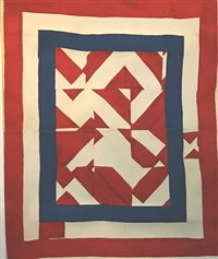 american housetop by lousiana bendolph (for the arnett's) by gee's bend quiltmakers