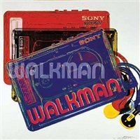 japan project, homage to andy warhol, sony-walkman by rupert jasen smith