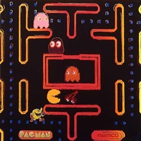 japan project, homage to andy warhol, namco-packman by rupert jasen smith