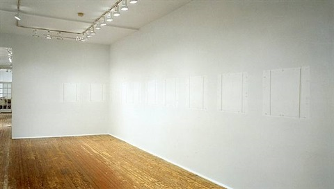 philadelphia prototype 2002,  larry becker contemporary art, philadelphia 2002 by robert ryman