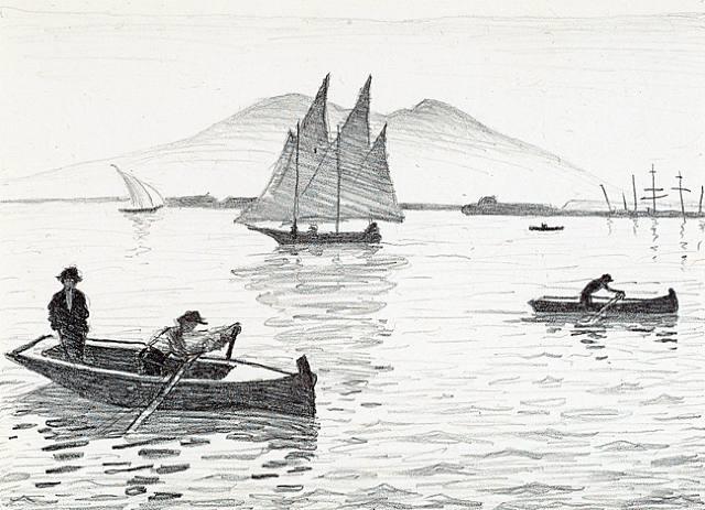 le port de naples by albert marquet