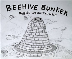 beehive bunker poetic architecture by chris burden