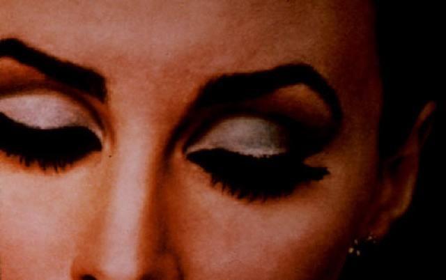 untitled (woman's eyelashes) by richard prince