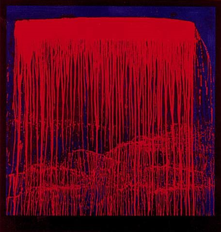 berlin waterfalls (night swing) by pat steir