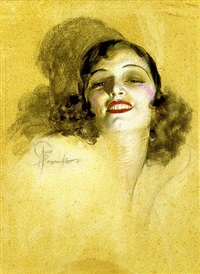 glamour girl by rolf armstrong