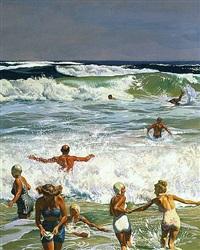 maine surf by john philip falter