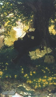 isaac walton, the father of angling by howard pyle