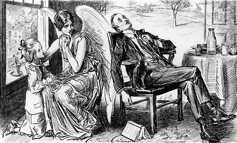 the muse of sleep by charles dana gibson