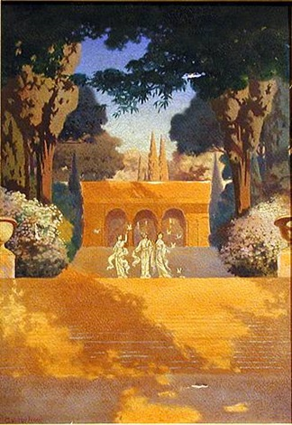 princesses in the garden by george hood