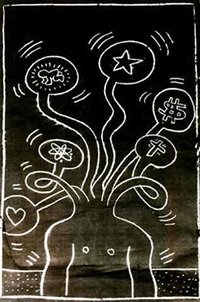 artwork 1985 by keith haring