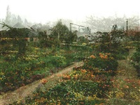 giverny #5 by sally apfelbaum