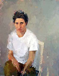 self-portrait by ann gale