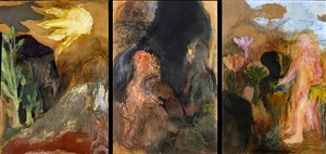 the national gallery triptych by ken kiff